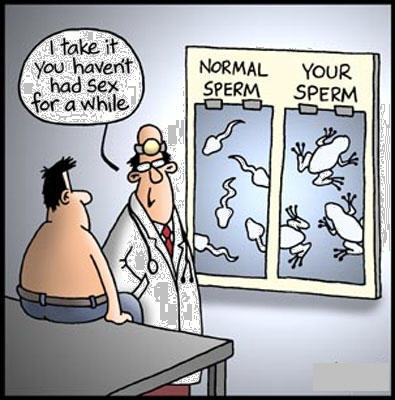 sperm cartoon